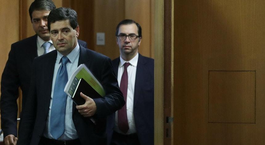 António Ramalho, antes de apresentar os resultados do Novo Banco relativos a 2018