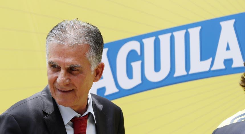 O treinador português quer ver a Colômbia a apurar-se já para os quartos de final da Copa América