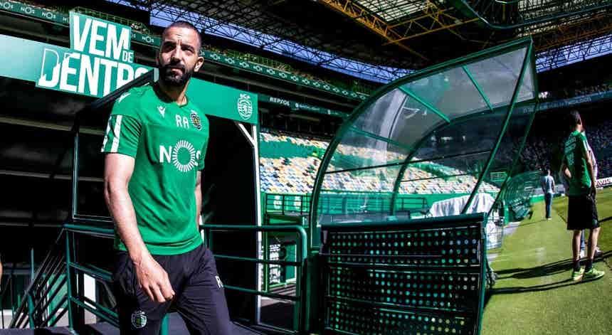 Rúben Amorim prepara o Sporting de 2020/2021