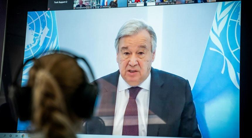 António Guterres revelou a sua preocupação sobre os efeitos da pandemia na América Latina e Caraíbas