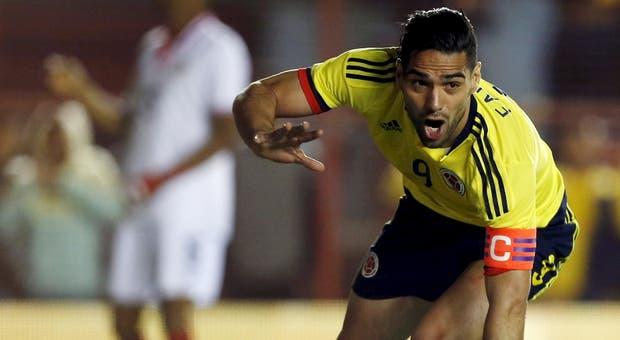 O avançado colombiano prossegue a carreira com José Mourinho