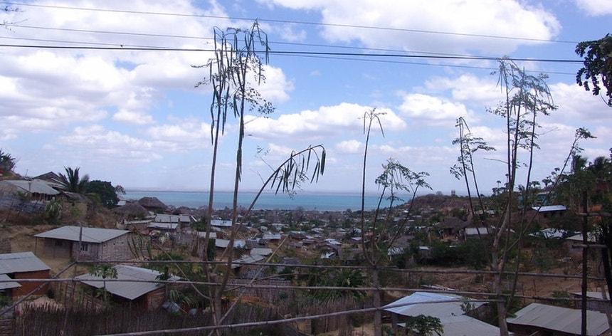 "Baía de Pemba em Cabo Delgado, Moçambique. Gás natural pode transformar Moçambique no ""Qatar de África"" (se os jihadistas deixarem)"