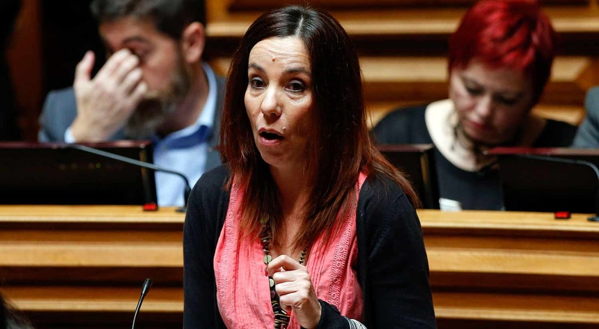 Heloísa Apolónia. Sentido de voto do PEV opô-se ao do PCP