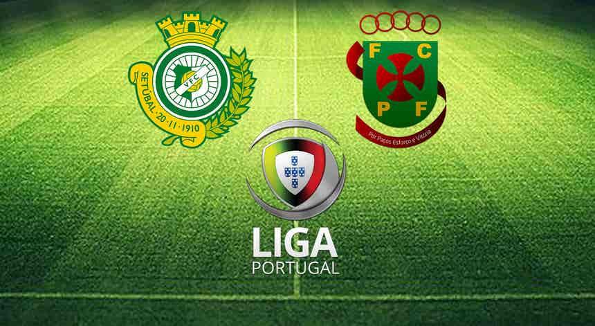 I Liga. Vitória FC - Paços de Ferreira