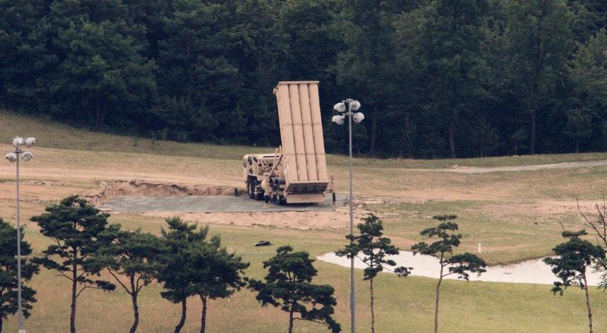 Tensão entre a Coreia do Sul e a China deve-se, em grande parte, a este sistema anti-míssil norte-americano instalado no país