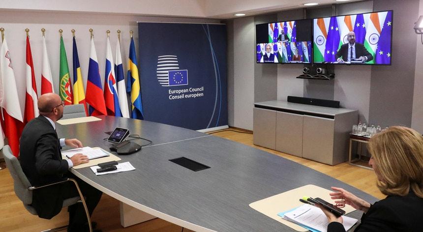 O Conselho Europeu extraordinário discute a situação na Bielorrússia