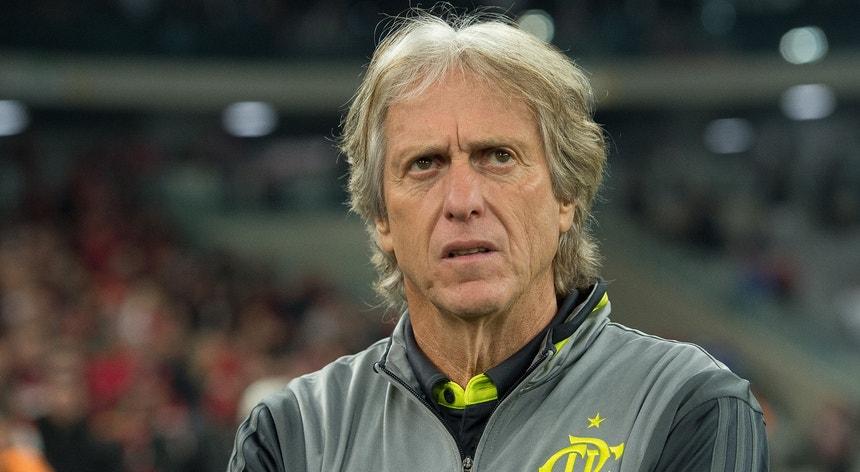 Jorge Jesus fica mais um ano a treinar a equipa do Flamengo