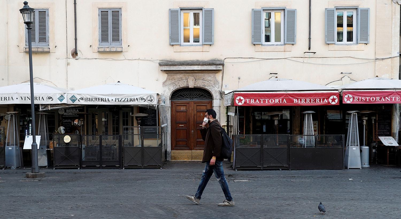 Campo de' Fiori em Roma /Remo Casilli - Reuters