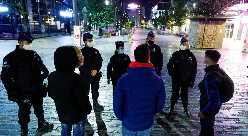 Bélgica, Bruxelas, patrulha no centro da cidade | Francois Lenoir - Reuters