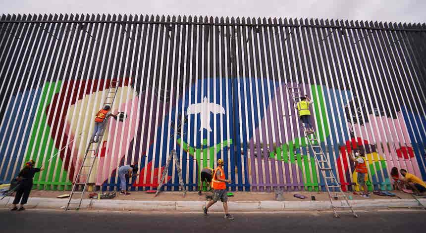 Muro da Fraternidade e da migração