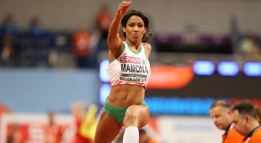 Resultado de imagem para Patrícia Mamona conquista 10.º título nacional consecutivo no triplo salto