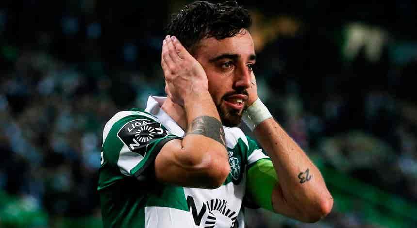Bruno Fernandes ?satisfeito e feliz? por ser o melhor jogador da época 2018/19