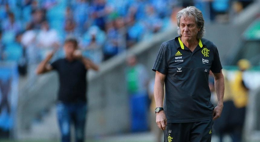 Jorge Jesus continua a levar a bom porto a equipa do Flamengo