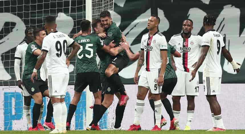 Besiktas - Sporting CP, Liga dos Campeões em direto