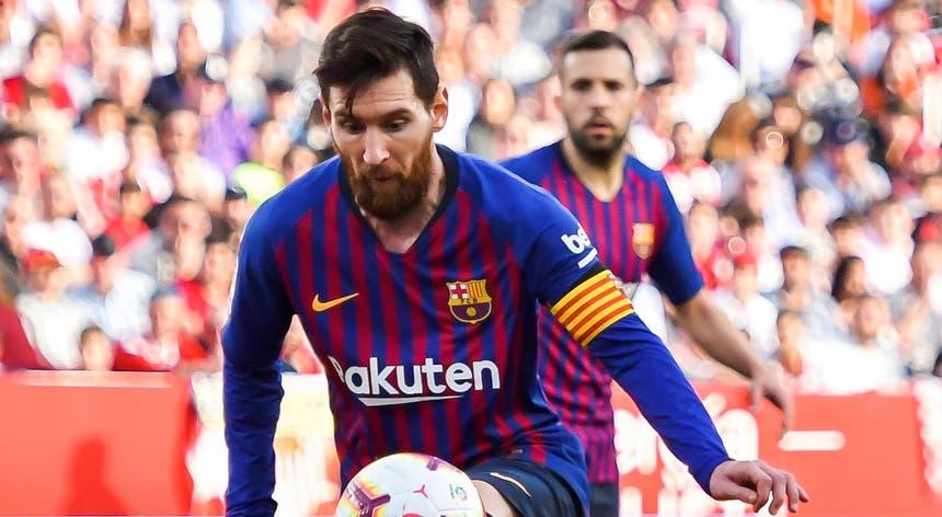Messi foi determinante na vitória do Barcelona sofre o Sevilha