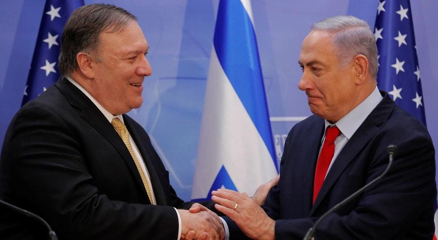 Netanyahu e Pompeo encontraram-se pela última vez em outubro