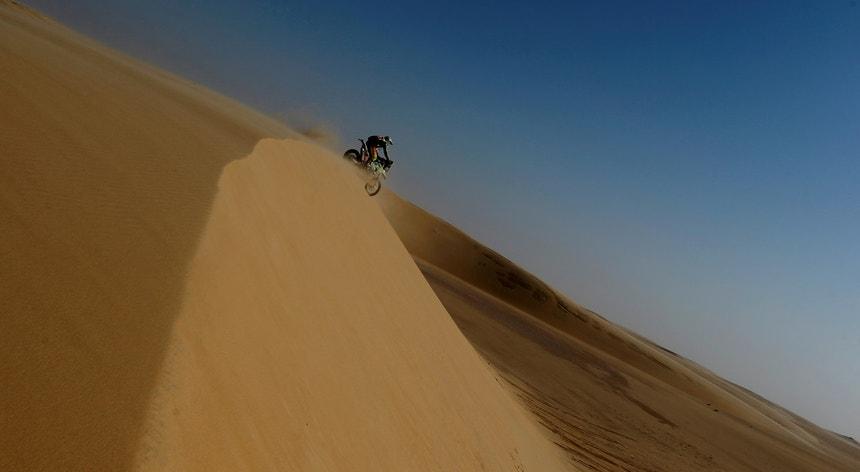Edwin Straver no Dakar