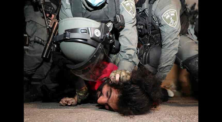 Israel. Despejo de palestinianos
