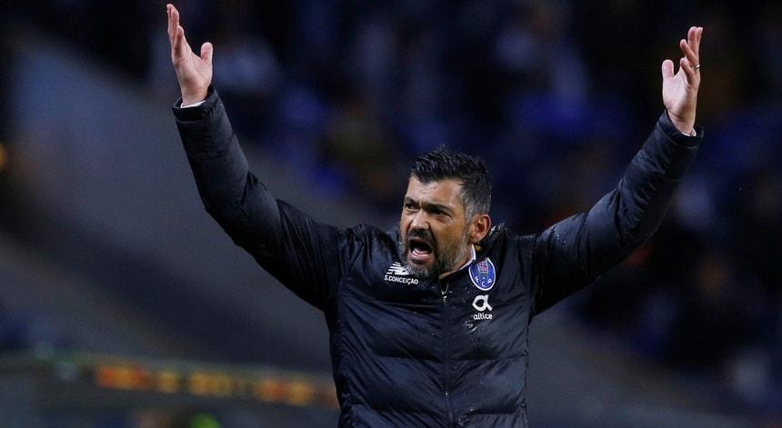 Sérgio Conceição festeja vitória do FC Porto