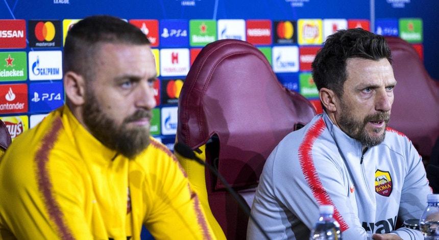 Eusebio di Francesco fez a antevisão da partida com o FC Porto