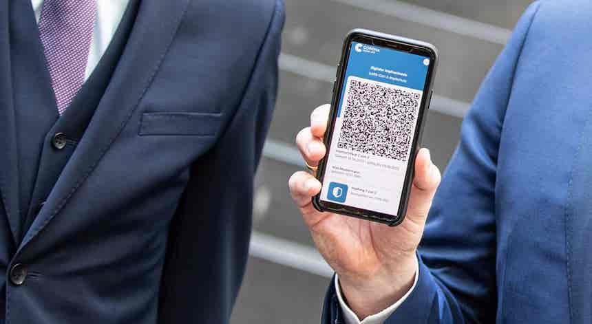 Covid-19: Certificados digitais começam a ser emitidos ainda esta semana
