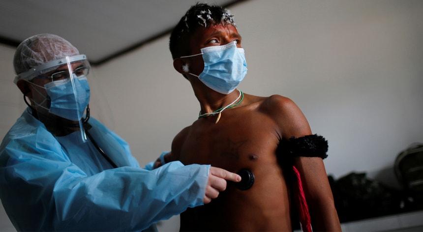 Os índios brasileiros mostram-se apreensivos com a proliferação da pandemia nos seus territórios