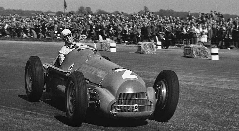 Giuseppe Farina venceu o primeiro Grande Prémio de Fórmula 1, em Silverstone