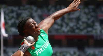 Auriol Dongmo ficou a cinco centímetros do Bronze