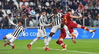 Juventus vence Roma do treinador José Mourinho e Rui Patrício