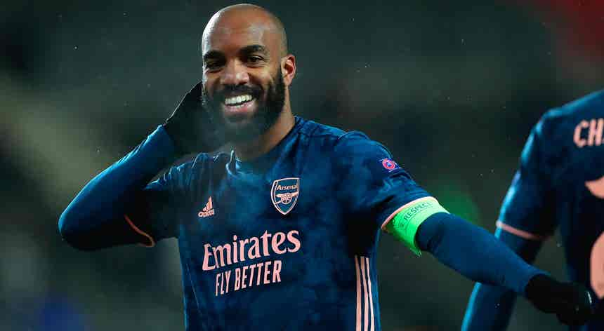 Liga Europa. Arsenal `arruma` Sparta com três golos em seis minutos