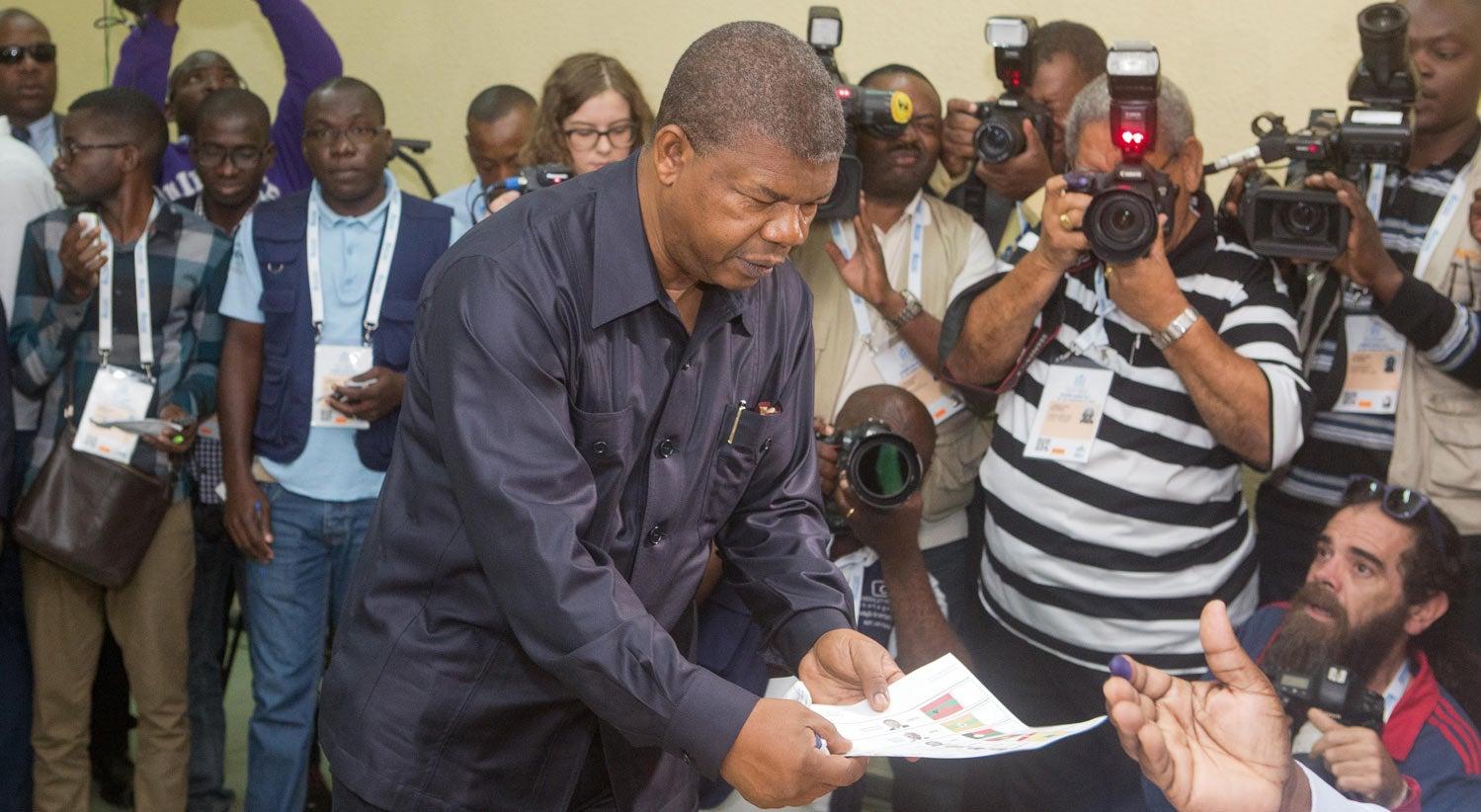 João Lourenço confirmado novo Presidente de Angola