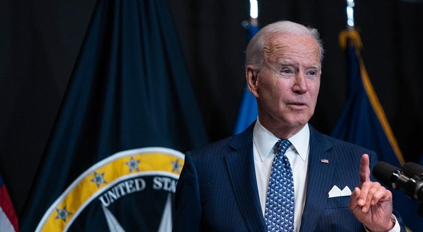 """""""Assistimos a um aumento da vacinação nestes últimos dias mas devemos fazer mais"""", fez notar Joe Biden"""