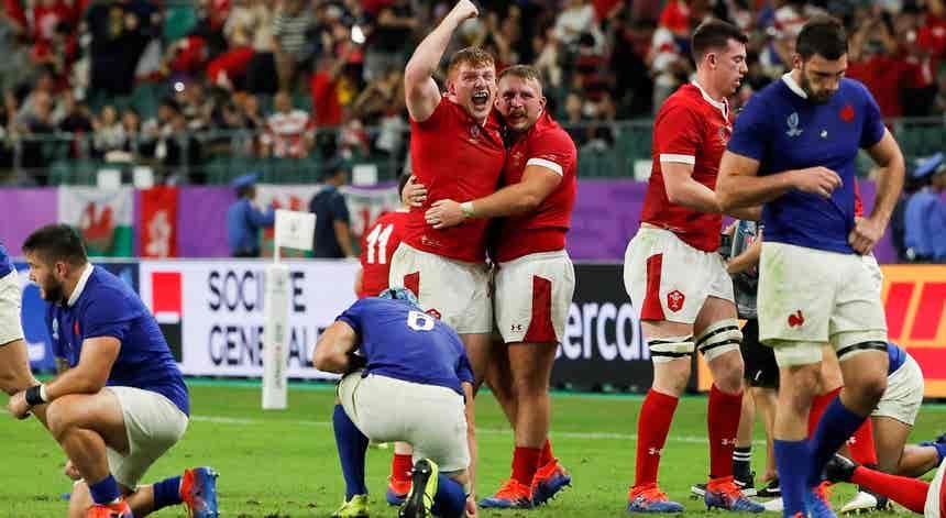 País de Gales bate França por um ponto e está nas meias-finais