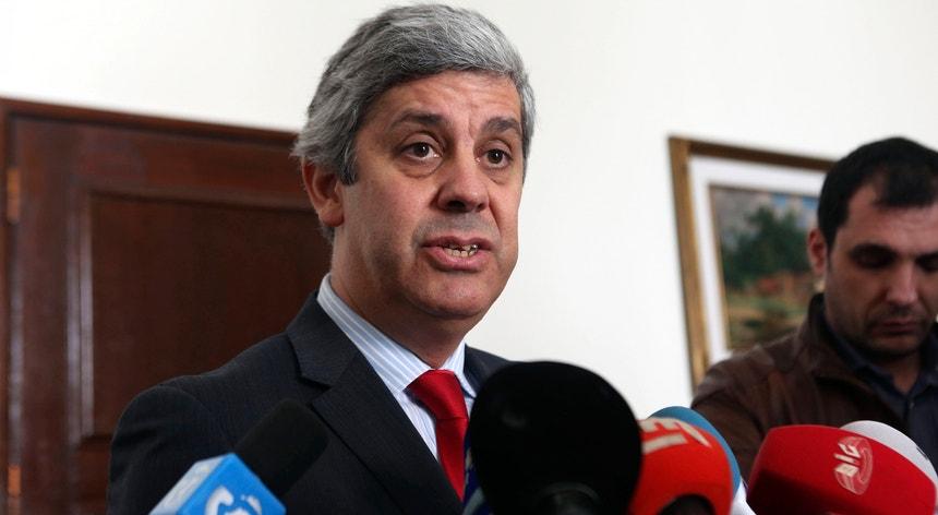 """""""Temos de começar esta discussão"""", sustentou o ministro português das Finanças em entrevista ao jornal alemão <i>Bild</i>"""