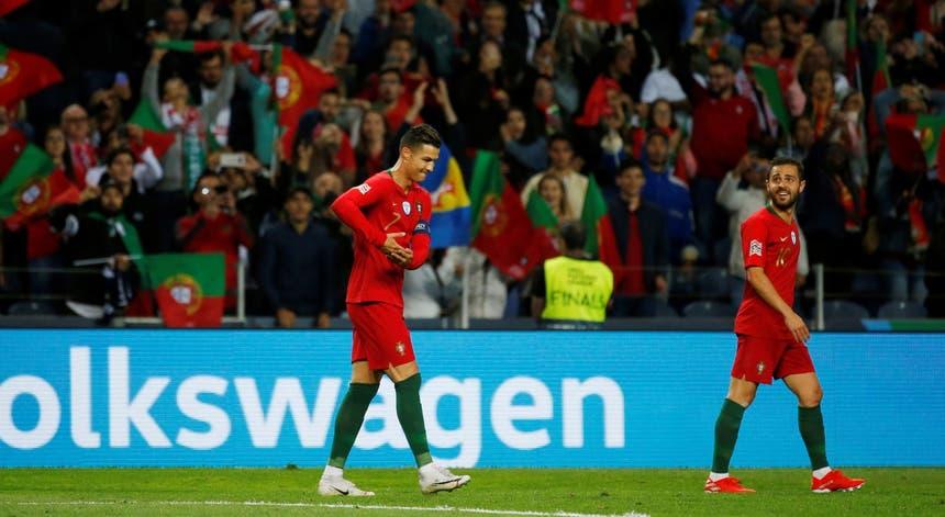 Bola de Ouro. Ronaldo e Bernardo nomeados