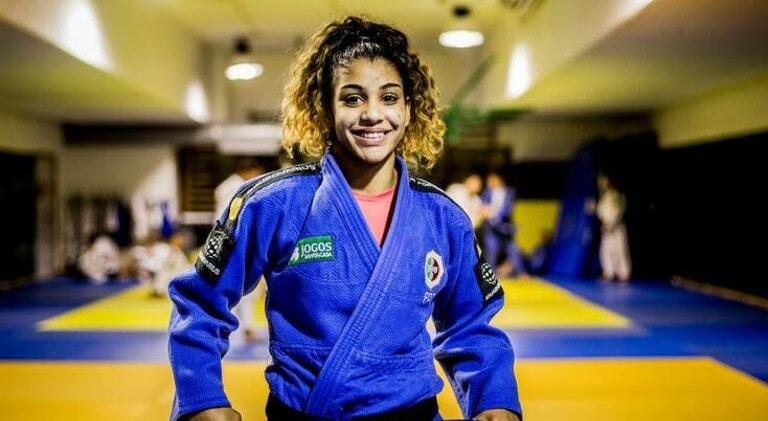 Maria Siderot perdeu na estreia frente a uma judoca eslovena