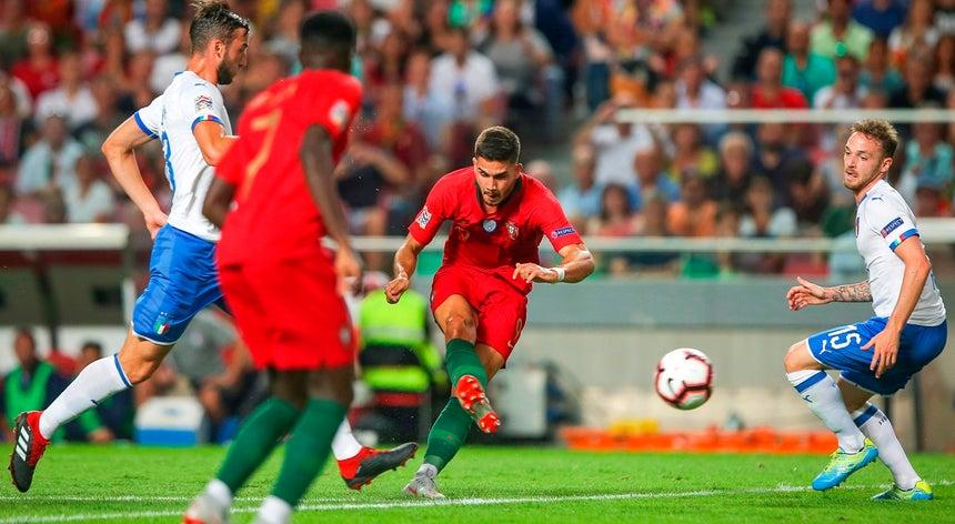 6160cc670089f Portugal bate Itália por 1-0 e já lidera Grupo 3 da Liga A da Liga ...