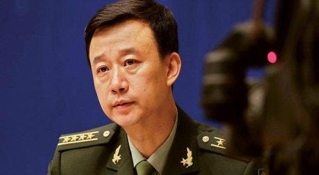 Porta-voz do Ministério da Defesa da China, Wu Qian