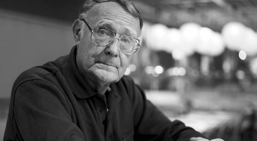 O fundador da multinacional Ikea, Ingvar Kampard, morreu em casa aos 91 anos