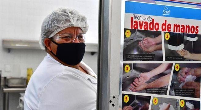 O México é o sexto país do mundo com mais óbitos provocados pela pandemia