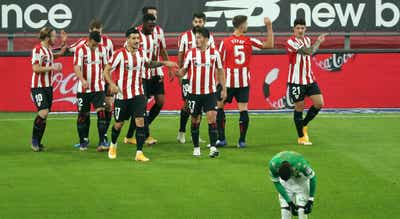 Athletic Bilbau goleou o Betis com quatro golos sem resposta