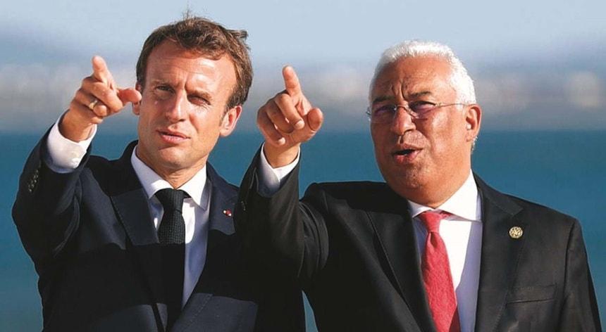 Macron e António Costa voltam a encontrar-se, em Paris, com a atualidade africana na agenda