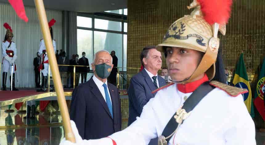 Marcelo com Bolsonaro
