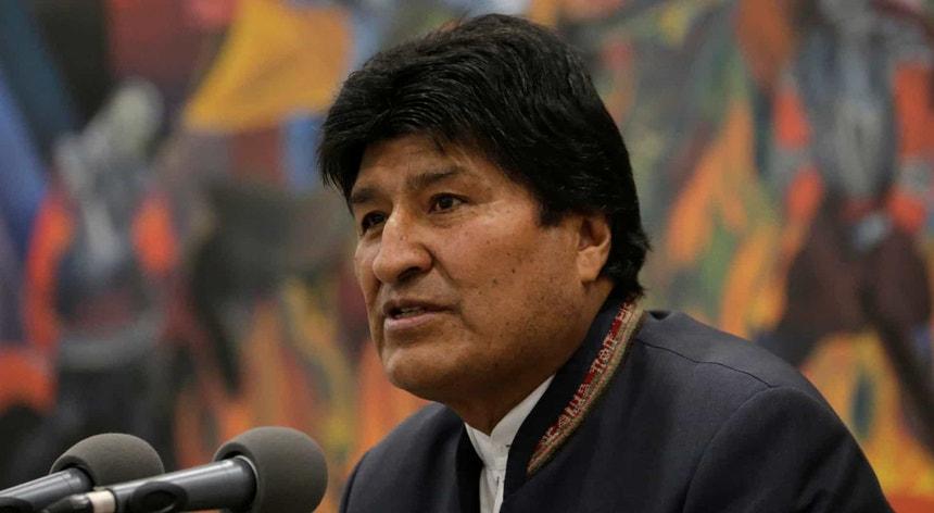 Evo Morales não escapou à pandemia