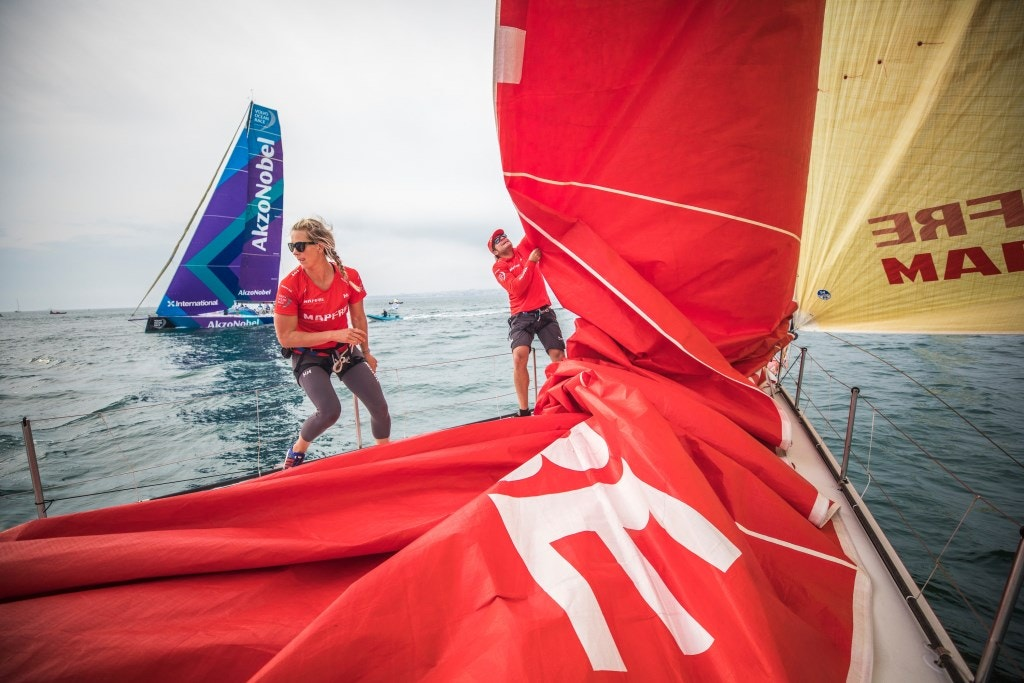 Créditos: Ugo Fonolla - Volvo Ocean Race - DR