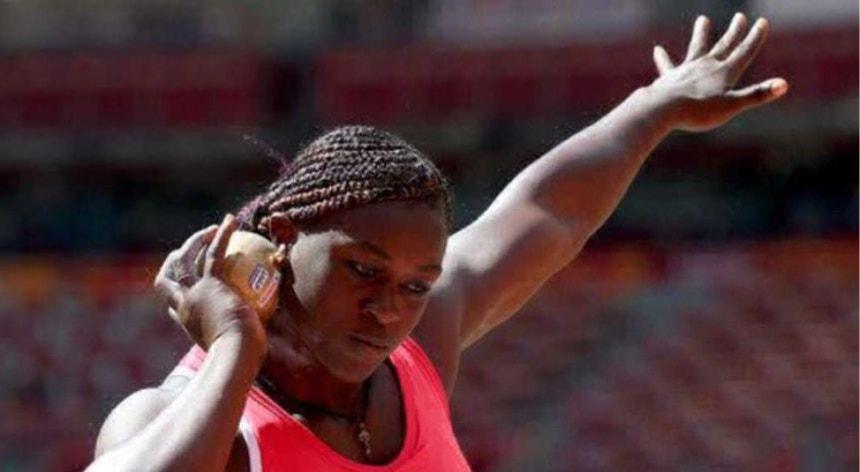 Auriol Dongmo é a principal favorita à vitória final no lançamento do peso dos Europeus de atletismo de pista coberta
