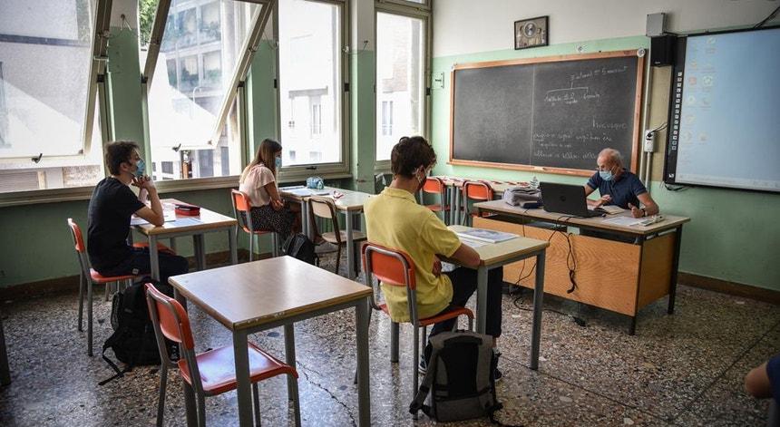 Os professores estão preocupados com as condições nas escolas