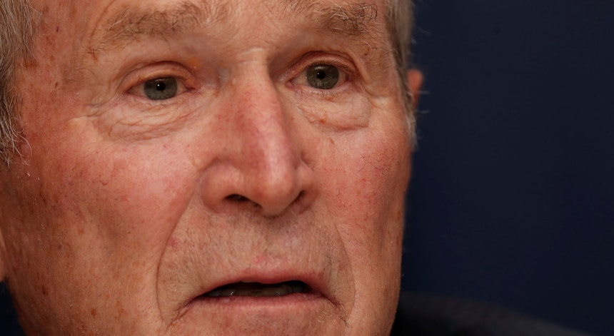 O ex-Presidente dos EUA, George W.Bush em 2019