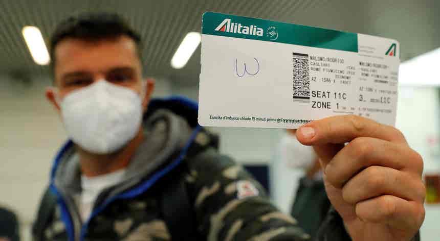 Adeus Alitalia