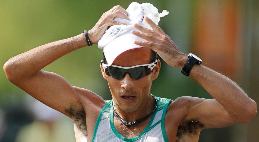 João Vieira utilizou uma câmara térmica para preparar os Mundiais de atletismo